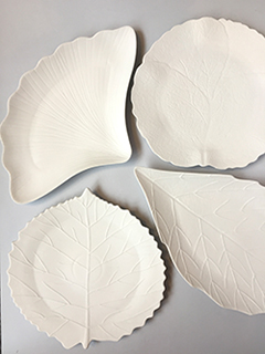 CERAMICA BLUE - CERAMICS AND TABLEWARE SHOP - LIMOGES LEAVES